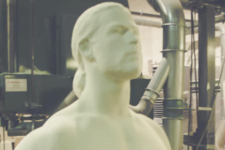 Thor Marvel Sculpture