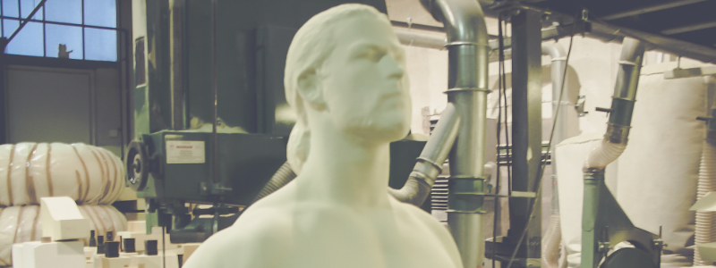 Thor Marvel Sculpture
